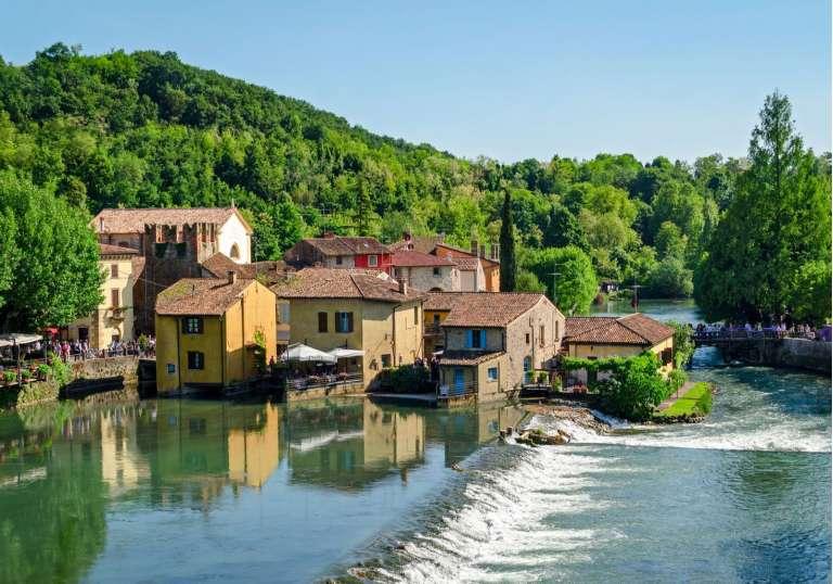 Visit Borghetto and a Valpolicella winery